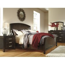 Crawfordsville Sleigh Customizable Bedroom Set by Red Barrel Studio®