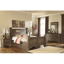 Damien Queen Panel Customizable Bedroom Set by Rosalind Wheeler
