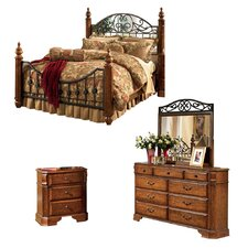 Garrett Panel Customizable Bedroom Set by Rosalind Wheeler
