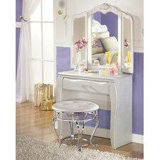Sylvia Vanity Set with Mirror by Viv + Rae