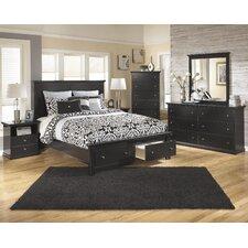 Muriel Queen Platform Customizable Bedroom Set by Viv + Rae