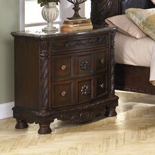 Chapell 3 Drawer Bachelor's Chest by Astoria Grand