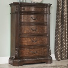 Carnearney 5 Drawer Chest by Astoria Grand
