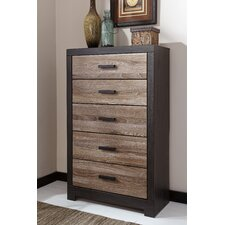 Arjun 5 Drawer Chest by Mercury Row®