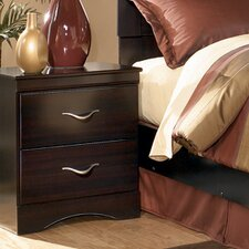 Cotaco 2 Drawer Nightstand by Red Barrel Studio®