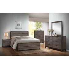 Ioana Wood Panel 5 Piece Bedroom Set by Roundhill Furniture