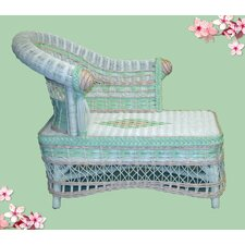 Child's Classic Chaise Lounge by Yesteryear Wicker