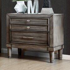 Barnesville 2 Drawer Nightstand by One Allium Way®
