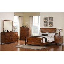 Del City Sleigh 5 Piece Bedroom Set by Loon Peak®