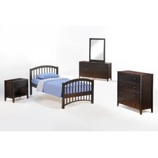 Zest Full Panel Customizable Bedroom Set by Night & Day Furniture