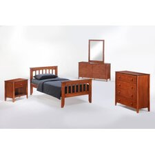 Zest Panel Customizable Bedroom Set by Night & Day Furniture