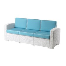 Cielo Patio Sofa with Cushions by Strata Furniture