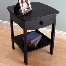 Carlton 1 Drawer Nightstand by Andover Mills®