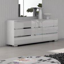 Salerno 6 Drawer Double Dresser by Brayden Studio®