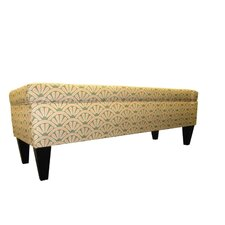 Tusarora Two Seat Bench with Storage by Three Posts