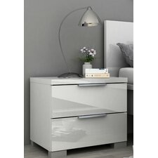 Clayton 2 Drawer Nightstand by Wade Logan®