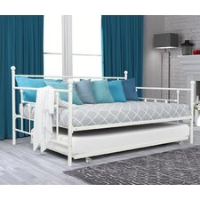 Mitton Daybed with Trundle by Charlton Home®