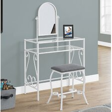 Vanity Set with Mirror by Monarch Specialties Inc.