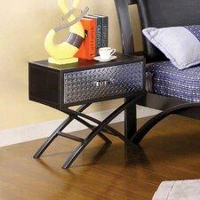 Rubin 1 Drawer Nightstand by Mercury Row®