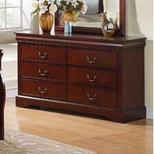 Lewiston Standard 6 Drawer Dresser by Standard Furniture