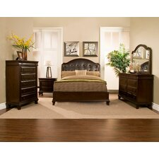 Beaumont Panel Customizable Bedroom Set by Alpine Furniture Top Reviews