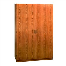 SystemBuild Collection 2-Door Wardrobe Cabinet - Oak by Ameriwood Industries