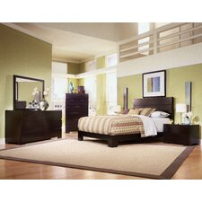 Madrid Platform Customizable Bedroom Set by Home Image
