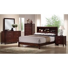 Baxton Studio Panel 5 Piece Bedroom Set by Wholesale Interiors