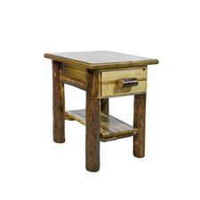 Glacier Country 1 Drawer Nightstand by Montana Woodworks®