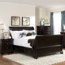 Inglewood Sleigh Customizable Bedroom Set by Woodhaven Hill