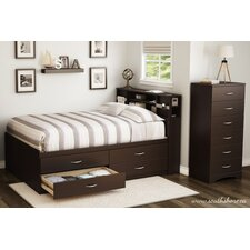 Step One Platform Customizable Bedroom Set by South Shore