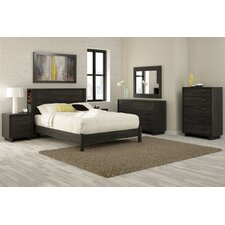 Fynn Platform Customizable Bedroom Set by South Shore