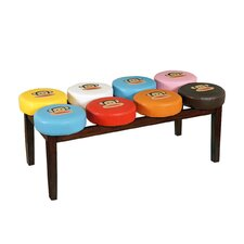 Paul Frank Marshmallow Bench by Najarian Furniture