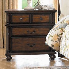 Langston 4 Drawer Nightstand by Woodhaven Hill