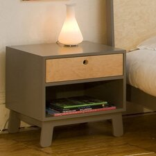 Sparrow 1 Drawer Nightstand by Oeuf