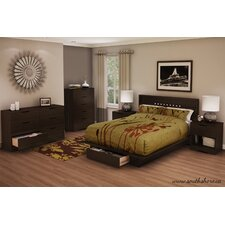Holland Platform Customizable Bedroom Set by South Shore