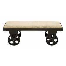 Portable Dressing Bench by Woodland Imports