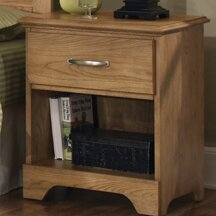 Sterling 1 Drawer Nightstand by Carolina Furniture Works, Inc.