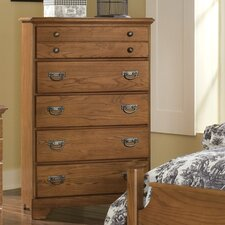 Creek Side 5 Drawer Chest by Carolina Furniture Works, Inc.
