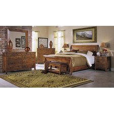 Baxter Sleigh Customizable Bedroom Set by Klaussner Furniture
