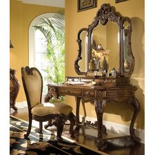 Palais Royale Vanity Set with Mirror by Michael Amini