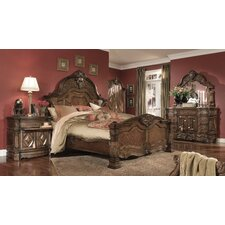 Windsor Court Panel Customizable Bedroom Set by Michael Amini