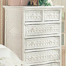 Classic 5 Drawer Dresser by Yesteryear Wicker