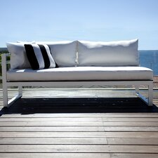 Piano Left Arm Sofa with Mesh Cushions by Harbour Outdoor