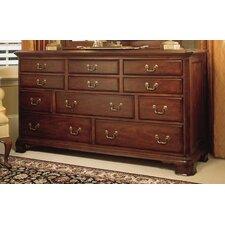 Cherry Grove Triple 11 Drawer Dresser by American Drew