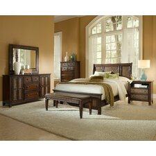 Kingston Isle Panel Customizable Bedroom Set by Progressive Furniture Inc.