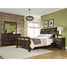 Haven Sleigh Customizable Bedroom Set by Imagio Home by Intercon