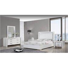 Ibiza Panel Customizable Bedroom Set by Whiteline Imports