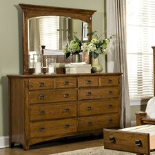 Pasilla 8 Drawer Dresser with Mirror by Imagio Home by Intercon