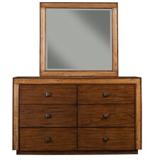 Jimbaran Bay 6 Dresser with Mirror by Origins by Alpine